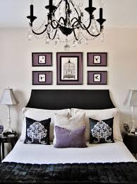 Purple And Grey Living Room Decorating Black White And Purple Bedroom Home Design Ideas