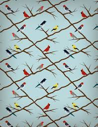 Bird Pattern Unique How To Create A Seamless Bird Pattern With Retro Touch In Illustrator