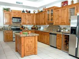 Real Wood Kitchen Cabinets Nice Look