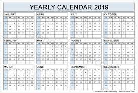 Calendar Year Quarters 2019 Calendar Quarters 2019 Calendar Calendar Weekly