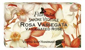 Купить <b>натуральное мыло</b> fiori d'autunno rosa variegata 100г ...