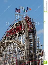 Image result for cyclone roller coaster