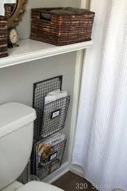 Bathtub Magazine Holder New Bathroom Magazine Rack Cottage Bathroom Glidden Fossil Grey