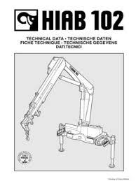 Hiab 102 2 Specifications Cranemarket