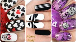 top 20 easy nail art designs diy nail art how to paint your nails