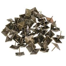 decorative nails for furniture. BQLZR 50pcs Upholstery Tack Decorative Nail Furniture Square Rivet Bronze 19x21mm Nails For