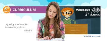 sixth grade curriculum overview