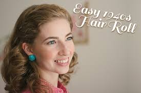 1940 Hairstyles 16 Stunning Easy 24s Hair Roll Tutorial Video The Boyer Sisters
