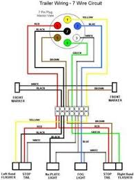 pinterest com Camper Plug Diagram typical 7 way trailer wiring diagram