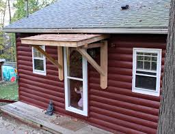 wooden awnings for windows awesome framework for homemade wood awning home decor by reisa