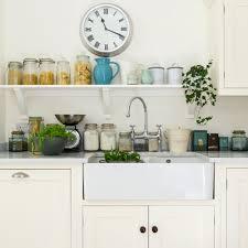 White Gloss Kitchen Worktop White Kitchens Ideal Home