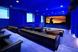 lighting for home theater. Home Theater Lighting With Blue Led And Leather Seats Proper . For