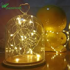 indoor christmas lighting. Interesting Christmas 20 Leds Christmas Lights Indoor 2M String LED Copper Wire Fairy For  Festival Wedding Party Intended Lighting