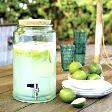 glass beverage dispenser with metal spigot glass beverage dispenser with spigot com intended for drink metal remodel 0 1 gallon glass beverage dispenser