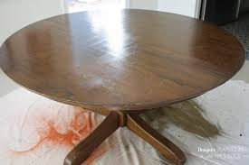paint furniture without sandingHow to Refinish a Table without sanding or stripping  Designer
