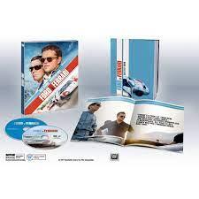 Digipack Ford V Ferrari 4k 2d Blu Ray Mediabook Target Exclusive Usa Hi Def Ninja Pop Culture Movie Collectible Community