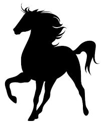 stallion silhouette vinyl wall art sticker present gift horse box stable ebay on horse silhouette wall art with stallion silhouette vinyl wall art sticker present gift horse box