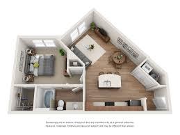 Floor Plans of River House Apartments in Baton Rouge, LA