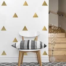 fullsize of impeccable metallic wall decals interior decorating large g triangledressed up uk damask circle lofty
