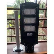 Bộ Đèn Led Năng Lượng Mặt Trời 90W- Đèn đường liền thể cảm biến chuyển  động, cảm biến ánh sáng