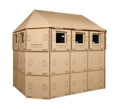 outdoor fort building kit designs