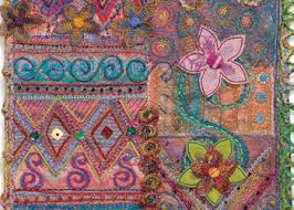 5 Free Quilt Embellishment Ideas including Crazy Quilting and ... & Floral Crazy Quilting: Project #4 Adamdwight.com