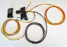 universal wiring harness 10 circuit 8 fuse universal wiring harness race rat rod w us made gxl quality
