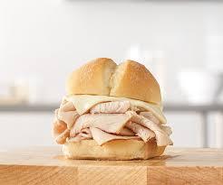 turkey n cheese slider