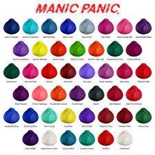 Manic Panic Hair Colour Chart Manic Panic High Voltage Classic Semi Permanent Hair Dye Vegan Colour 118ml Ebay