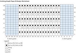 Create Your Own Knitting Chart Create A Knitted Design Chart Using An Excel Spreadsheet