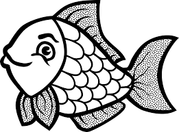 Small Picture Fish Coloring Pages