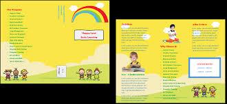 Sample Preschool Brochure Child Care Brochure Template 24 Child Care Owner 24