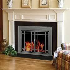 pleasant hearth glass fireplace door edinburg small ed