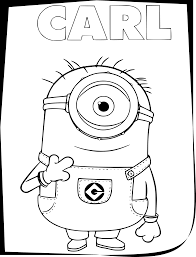 This fun illustration of the minions gives you a clear idea about how the characters are with each other. Download Hd Minions Coloring Pages Minion Cartoon Coloring Page Transparent Png Image Nicepng Com