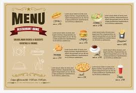 Make A Menu For A Restaurant Quality Restaurants Can Make An Impression With The Right