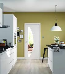 rno white pre primed clear glazed internal doors in situ