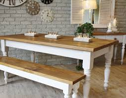 Large Farmhouse Kitchen Table Bench Dining Room Table Nice On Round Pedestal Dining Table Home