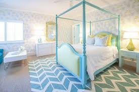 view in gallery serene and chic teen girl s room in light blue and yellow design lucy and