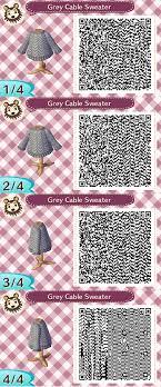 Animal crossing new leaf hoodie Christmas Grey Cable Sweater Animal Crossing New Leaf Qr Code Pinterest Grey Cable Sweater Animal Crossing New Leaf Qr Code Acnl