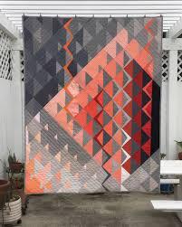 Modern Quilt Design Ideas Gorgeous Modern Quilt Hst Variations Modern Quilting