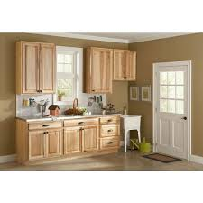Hickory Kitchen Hampton Bay 2x90x2 In Hickory Natural Kitchen Cabinet Crown