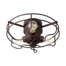 Shades Of Light Windmill Fan Windmill Fan Metal Cage Light Kit Shades Of Light
