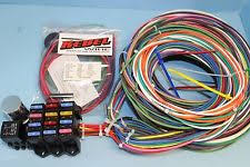 vw bus parts rebel wire vw bus deluxe universal wiring harness 12 volt 14 circuit