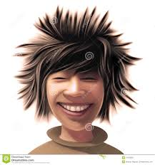 Asian Boy Hair Style boy with a wild hair style royalty free stock photo image 11052605 5755 by stevesalt.us