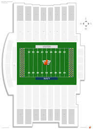 Byrd Stadium Seating Chart Navy Marine Corps Stadium Navy Seating Guide