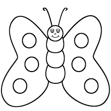 Butterfly Coloring Pages For Toddlers Coloring Pages For All Ages