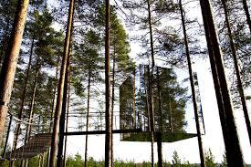 invisible tree house hotel. Mirror Cube Tree Hotel, Sweden Invisible House Hotel