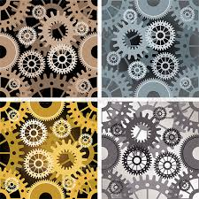 Gear Pattern Custom Seamless Gear Pattern By Gertot48 GraphicRiver