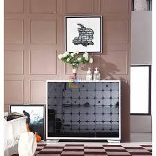 modern white living room furniture.  Living Modern White U0026 Black 3 Door Shoe Cabinet Living Room Furniture Drawers  Storage Organizer Loading Zoom In Room A