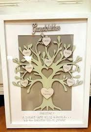 family tree frame personalised lg daisies frames picture beautiful walls large family tree frame